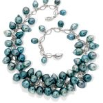 Tahitian grapes pearl necklace