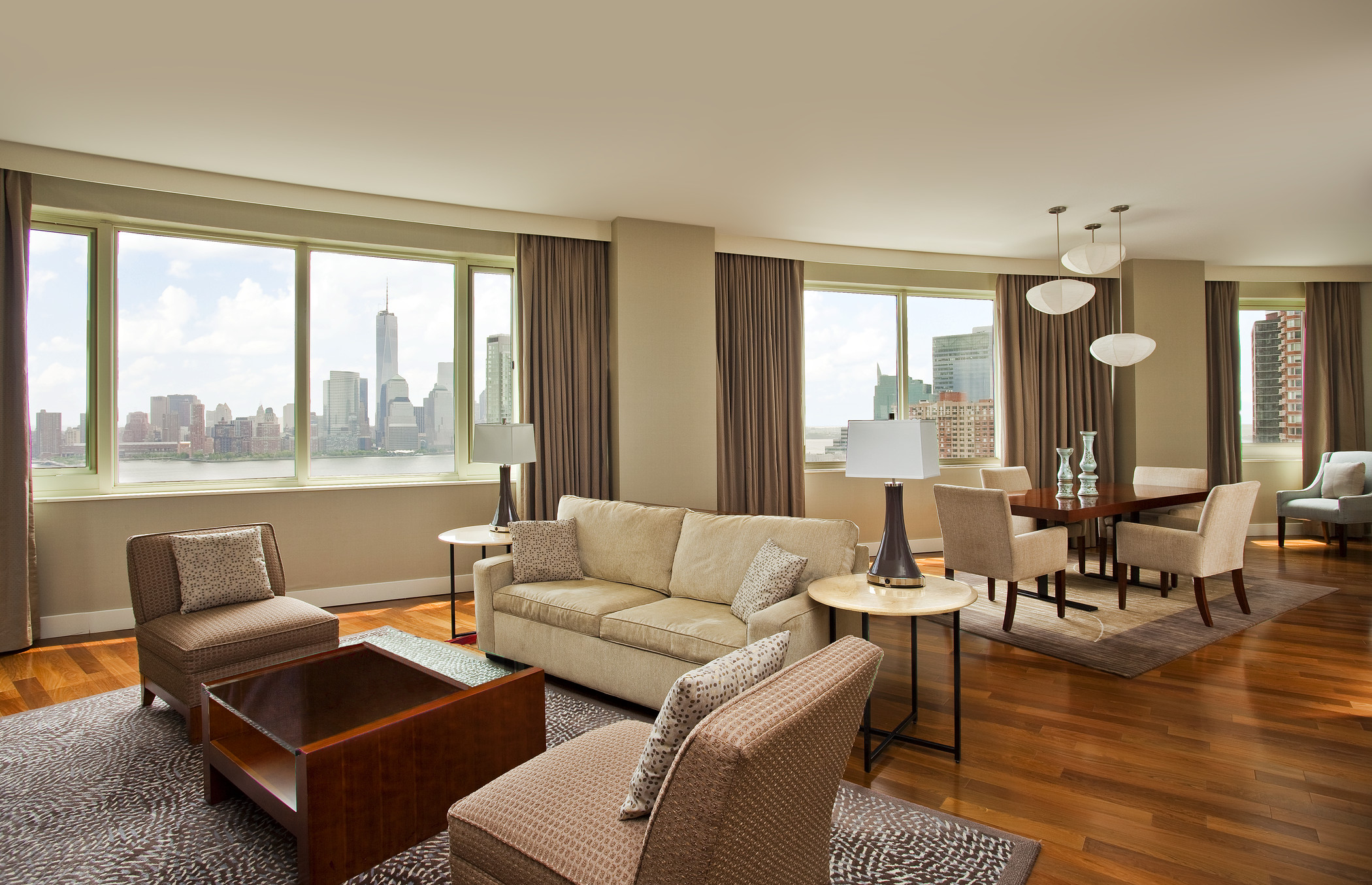The Westin Jersey City Newport 39 S Presidential Suite